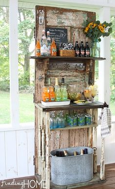 DIY Beverage Bar Station