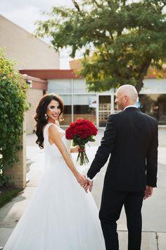 Wedding day photo idea - bride and groom wedding day portrait {John S. Miller Photography}