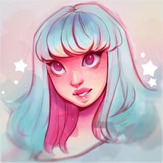 """61.9k Likes, 261 Comments - Laura Brouwers (@cyarine) on Instagram: """"Cotton candy vibes  ✨ A sweet rough thing in between ~"""""""