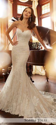 Wedding Dress by Sophia Tolli