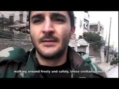 """A message from SAA soldier in Aleppo: The Truth and The Lies about Syria..."""" Whats trending Now...!!!!! hmm  4th estate """"whats trending now """""""
