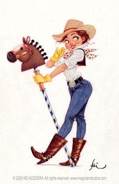 Cowgirl by imaginism.deviantart.com on @deviantART https://www.facebook.com/CharacterDesignReferences