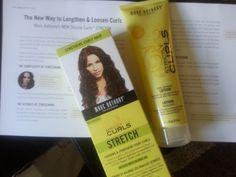 Stretch your curls w/Marc Anthony Stretch.