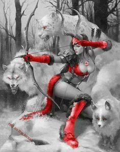 New Ideas Fantasy Art Warrior Women Artemis Fantasy Warrior, Fantasy Girl, Chica Fantasy, 3d Fantasy, Fantasy Kunst, Fantasy Women, Fantasy Artwork, Anime Fantasy, Comic Kunst