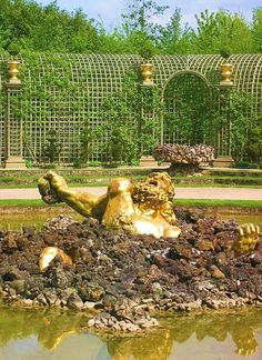 Gaspard Marsy, Fountain of Enceladus, National Museum of Versailles and Trianon, Versailles. Greece Mythology, Palace Of Versailles, Trianon Versailles, Versailles Garden, Gaspard, Animal Symbolism, Greek Culture, 3 Arts, Art For Art Sake
