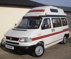 eBay: 2001 VW T4 Autosleeper Trident - 4-berth Hi-top Camper #vwcamper #vwbus #vw