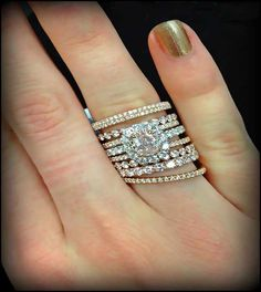 stackable wedding ring tiffany - Google Search