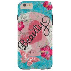 Butterfly and Flowers iPhone6 Case