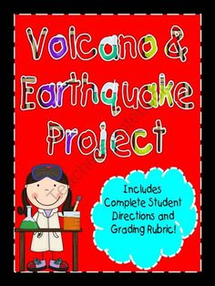 Volcano & Earthquake Project! Can use similar directions and Judging criteria. We won't actually make this like school with rubrics and such, but we could have a contest to see which camper/group can create the best eruption. Can also research famous volcanoes.