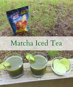 Try this Matcha Iced Tea for a refreshing and energizing summer drink Healthy College Meals, Healthy Recipes On A Budget, Healthy Breakfast Recipes, Clean Eating Recipes, Healthy Meals, Tea Drinks, Clean Eating Dinner, Light Recipes, Iced Tea