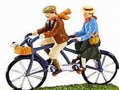 98caefc2aa7 Tandem Bicycle, Bicycle Art, Bike, Department 56, Vehicles, Art Paintings,