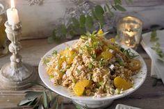Reissalat mit Mandarinen, ein raffiniertes Rezept aus der Kategorie Schnell und einfach. Bewertungen: 62. Durchschnitt: Ø 4,5.