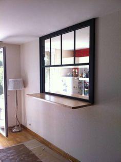 Fenêtre Americaine Passe-Plat Intérieur - Entreprise de menuiserie Toulon - Vente et pose de fenêtres PVC et alu Var - Entreprise Baudisson