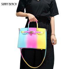 679512c63177 Female Luxury Handbags Bolsa Totes Bag Brand Designer Bag Women Shoulder  Messenger Bags PVC Matte jelly
