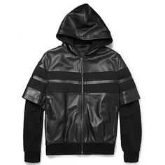 Amazing Givenchy Leather Bomber Jacket from Fall/Winter 2013 Collection.