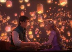 ummm...I've never wanted to be a Disney character more than I did while watching this scene of Tangled...