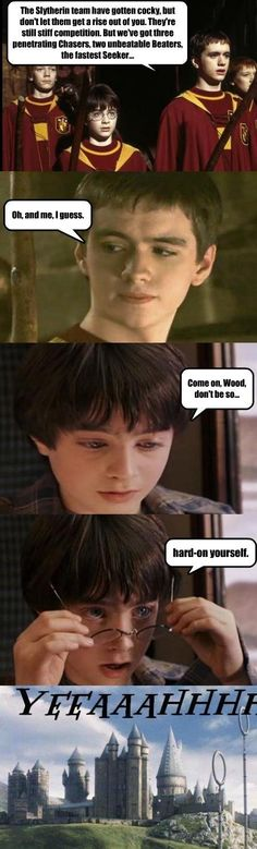 Harry Potter does a Horatio Caine