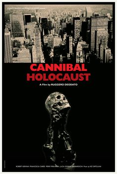 Silver Ferox Design: CANNIBAL HOLOCAUST (Ruggero Deodato, 1980)
