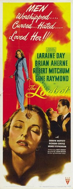 Directed by John Brahm.  With Laraine Day, Robert Mitchum, Brian Aherne, Gene Raymond. Just before a wedding, the bridegroom hears a complex tale painting his lovely bride as devilish and unbalanced.