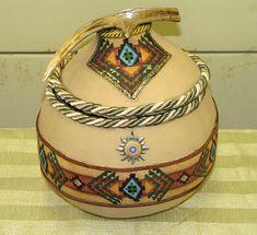 Indian Gourd Pot by wimudpuppy, via Flickr