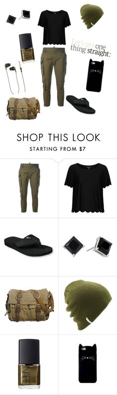 """Untitled #149"" by skylovessave ❤ liked on Polyvore featuring Dsquared2, Topshop, L.L.Bean, Lauren Ralph Lauren, Coal, NARS Cosmetics, Forever 21 and Kreafunk"