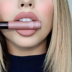 BASHFUL is my Jam  @girlactik Matte #Lippaint | The most perfect browny-nude | #jadeylips