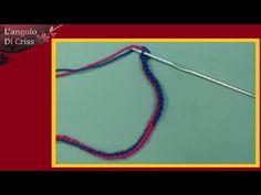 Come raddoppiare e triplicare un filato da un solo gomitolo - tutorial - YouTube