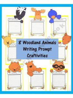 Woodland Animal writing prompts Sweet-Tea-Classroom Shop - | Teachers Notebook