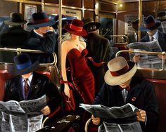Victor Ostrovsky Israeli, born 1949 Lady in Red