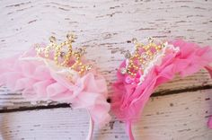 girls princess crown crown baby crown birthday by PoshPeanutKids, $13.95