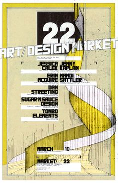 Poster for market on March 10!