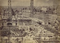 Durandelle, chantier de l'Opéra de Paris, 1861-1875, Gallica/BnF