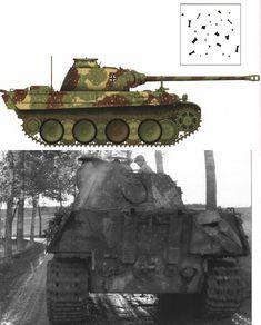 Пантера G  .Нормандия 1944-45.