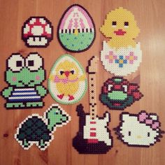 Crafts hama beads by mokzan
