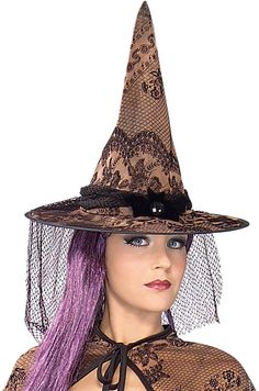 Autumn Witch Hat Accessory