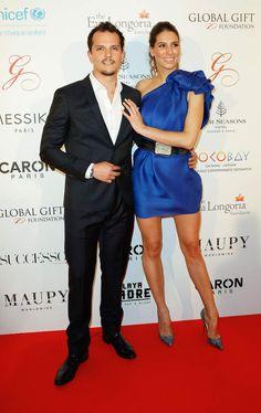 Juan Arbelaez et Laury Thilleman, très en beauté sur le tapis rouge.