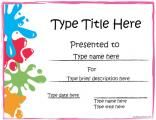 This website has TONS of free printable certificate templates for every occasion!
