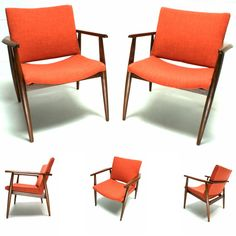The 60s Mid Century Modern Danish Lounge Chair  Yes, please.