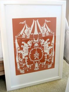A larger scale piece, the Circus!