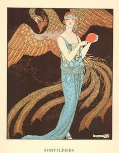 Georges Barbier (1882 - 1932) was one of the great French illustrators of the early 20th century.