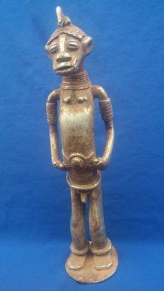 Statue Senoufo - Dimension : 37x9,5 en parfait état - Côte d'Ivoire
