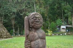 Another Statue at Sukuh Temple, Indonesia