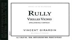 "Wine Spectator TOP VALUE - 89 points  Vincent Girardin Rully Vieilles Vignes 2009  ""This fruity style is bright and unbaked, featuring apple and peach notes, with a savory quality and lively acidity."""