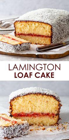 Gluten Free Baking, Gluten Free Desserts, Delicious Desserts, Coconut Loaf Cake, Chocolate Icing, Strawberry Jam, Vegan Cake, Cake Batter, Pound Cake