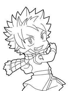 Fairy Tail - Natsu chibi by Natsu9555