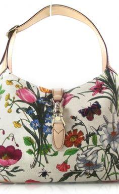 Tom Ford for Gucci Floral Handbag