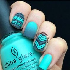 In search for some nail designs and ideas for your nails? Here's our list of 18 must-try coffin acrylic nails for trendy women. Acrylic Nail Designs, Nail Art Designs, Acrylic Nails, Nails Design, Indian Nail Designs, Aztec Nail Designs, Indian Nail Art, Marble Nails, Nail Art Noel