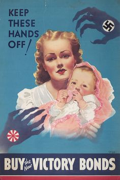 Keep these hands off!    Creator: Unknown   Date: 1941-42 Toronto Public Library.
