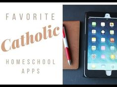 Catholic homeschool apps (and The Catholic Field Guide! Catholic Homeschooling, Catholic Kids, Homeschool Apps, Catholic Pictures, Field Guide, Montessori, School Stuff, Saints, Religion