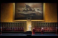 Simon Boccanegra. Teatro alla Scala. Scenic design by Pier Paolo Bisleri. 2009